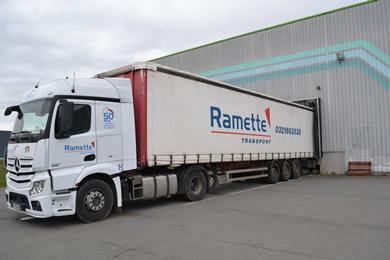 Groupe ramette : transport routier de marchandises en vrac